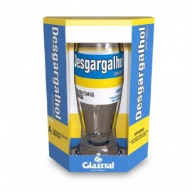 Copo para Cerveja 300 ml Desgargalhou-GLASSRAL