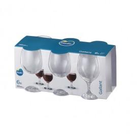 Conjunto de Taças Para Vinho Gallant 250ml - 6 Peças Nadir