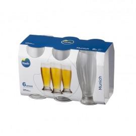 Conjunto de Copos Cerveja Munich 300ml- 6 Peças Nadir