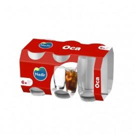 Conjunto de Copos Oca - 300 ml Com 6 peças