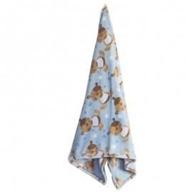 Cobertor Microfibra Estela Blue Baby- CAMESA