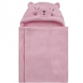 Manta Com Capuz Pink Baby- CAMESA