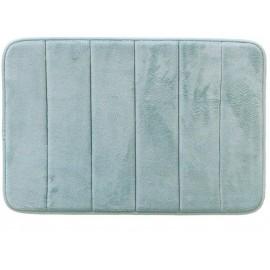 Tapete De Banheiro Micropop Azul Piscina- CAMESA
