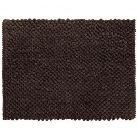 Tapete De Banheiro Micropop Marrom- CAMESA