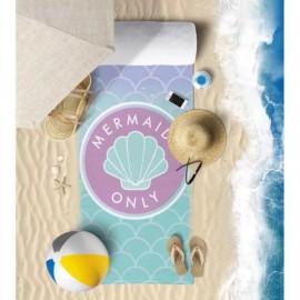 Toalha De Praia Microfibra Anti Areia Mermaids- Panosul