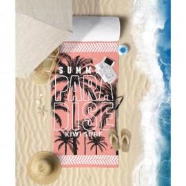 Toalha De Praia Microfibra Anti Areia Paradise- Panosul