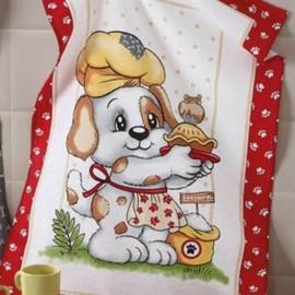 Pano Copa Prata Estampa Dog Food 3-DÖHLER