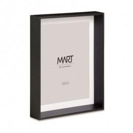 Porta Retrato Em MDF 10x15 Cm Preto- MART