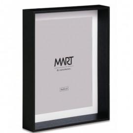 Porta Retrato Em MDF 15x20 Cm Preto- MART
