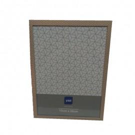 Porta Retrato Metal Shale Dourado 15X20cm- YAZI