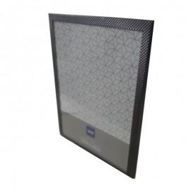 Porta Retrato Metal Shale Cinza Chumbo 15X20cm- YAZI