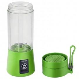 Mini Liquidificador Portátil Carregador USB 380Ml Verde- WEEZE