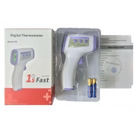 Termômetro Digital Infravermelho Corporal Medidor Pela Testa- ANU