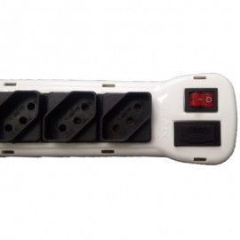 Filtro De Linha Tripolar Full Energy Bivolt 5 Tomadas-FORLUX