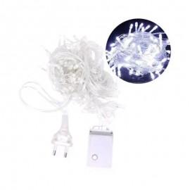 Pisca Super Brilhante Com 100 Leds Branco-ART CHRISTMAS