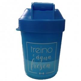 Garrafa Squeeze Frases 400 ML Azul- FRATELLI