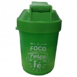 Garrafa Squeeze Frases 400 ML Verde- FRATELLI