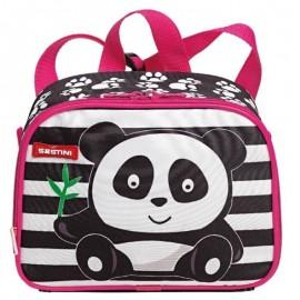 Lancheira 2 Em 1 Kids X Panda Colorido- SESTINI
