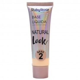 Base Natural Look Bege 2- RUBY ROSE