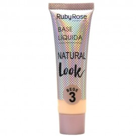 Base Natural Look Bege 3- RUBY ROSE