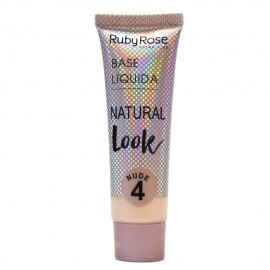 Base Natural Look Bege 4- RUBY ROSE