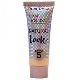 Base Natural Look Bege 5- RUBY ROSE