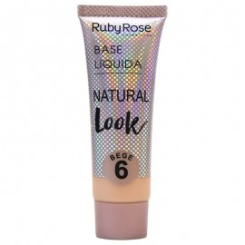 Base Natural Look Bege 6- RUBY ROSE