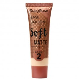 Base Soft Matte Bege 2- RUBY ROSE