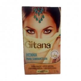 Henna Para Sobrancelha Com 2 Unidades- GITANA