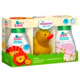 Kit Bebe Love Shampoo e Condicionador Com Bichinho Amarelo- Nutriex