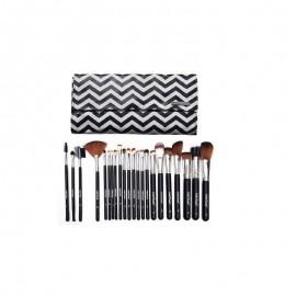 Kit Com 22 Pincéis Profissionais Para Maquiagem -MACRILAN
