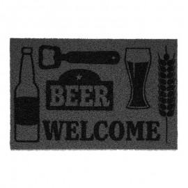Capacho De Entrada Vinil Super Print Beer 40X60Cm- KAPAZI