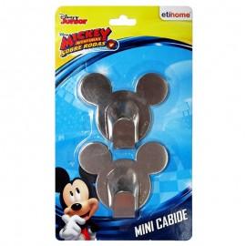 Cabides Pequenos 2 Peças Mickey- ETILUX