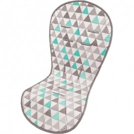Almofada Protetora Para Carrinho Triângulos- BUBA