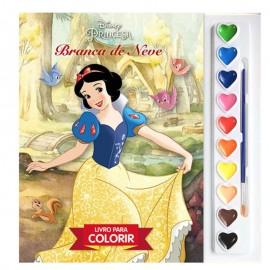 Aquarela Princesas Branca De Neve Disney- DCL