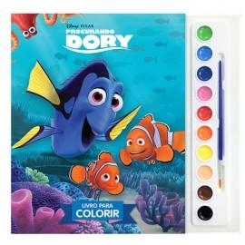 Aquarela Procurando Dory Disney- DCL