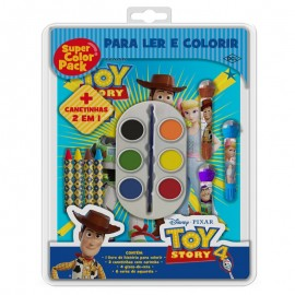 Kit Infantil Super Color Pack Aquarela Toy Story- DCL