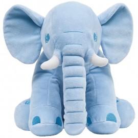 Elefantinho De Pelúcia 30Cm Azul- BUBA