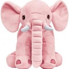 Elefantinho De Pelúcia 30Cm Rosa- BUBA