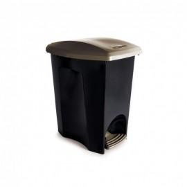 Lixeira Com Pedal 15L EcoBlack- PLASUTIL