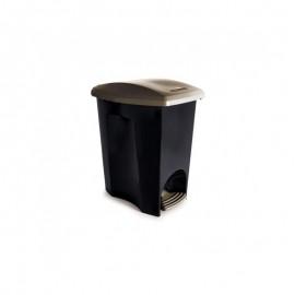 Lixeira Com Pedal 7L EcoBlack- PLASUTIL