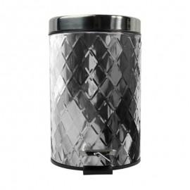 Lixeira Com Pedal Diamonds 5 Litros- WINCY CASA