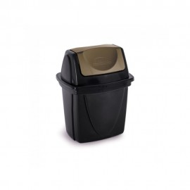 Lixeira Para Pia Basculante 6,5L EcoBlack- PLASUTIL