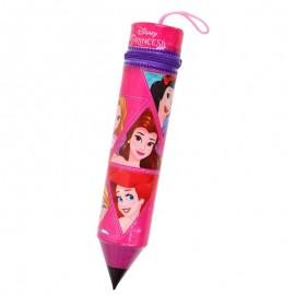 Estojo Escolar Formato Lápis Princesas- ETILUX