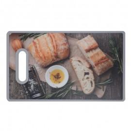 Tabua Para Corte Cook De Plástico Estampada 30x20 Cm - YANGZI