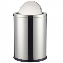 Lixeira Basculante Aço Inox 12L-CLINK