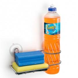 Porta Detergente E Bucha Com Ventosas– ARTHI