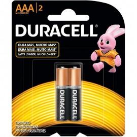 Pilha AAA Com 2-DURACELL
